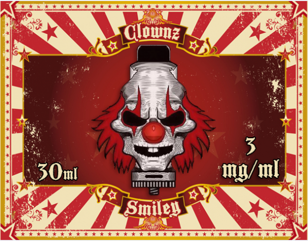 Clownz Liquid 30ml Smiley