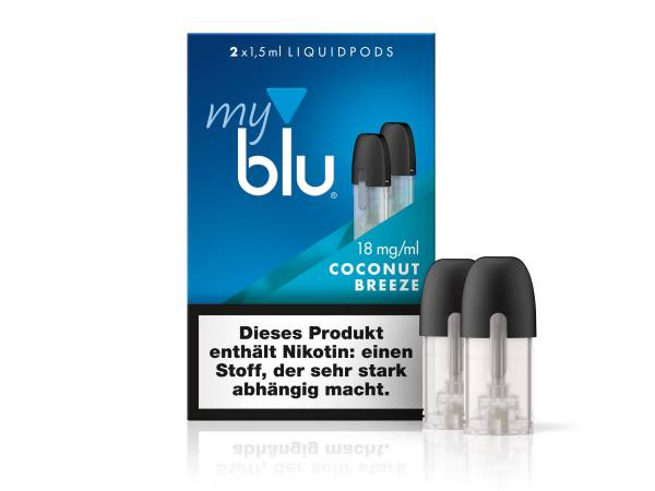 myblu Coconut Breeze (2er Pack)