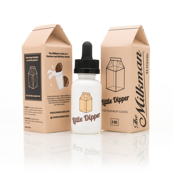 The Vaping Rabbit E-Liquid 30ml The Milkman Little Dipper 0mg