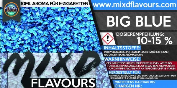 MIXD Flavours Aroma 10ml Big Blue