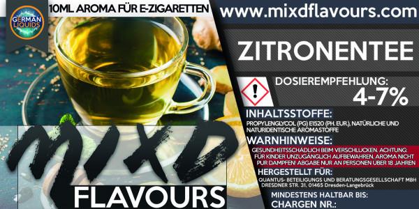 Zitronen Tee - MIXD Flavours Aroma 10ml