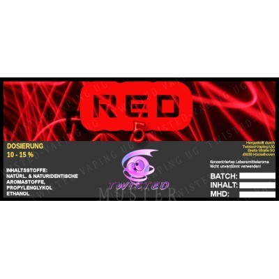 Twisted Flavors-Aroma (10 ml) Red 5