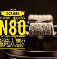 3-27 Alien (2 Stück) by Tasty Ohm Coils