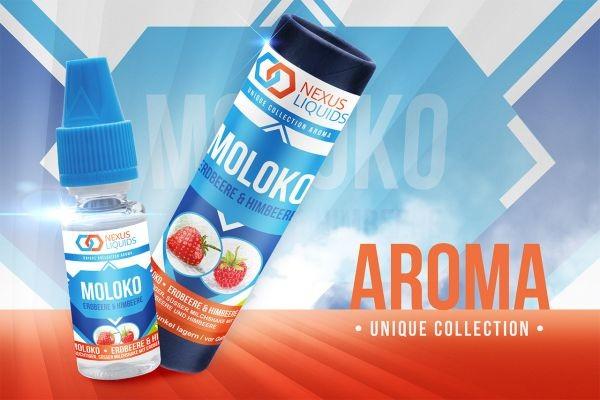 Nexus Aroma 10ml Moloko - Erdbeere & Himbeere Edition