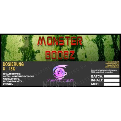 Twisted Flavors-Aroma (10 ml) Monster Boobz