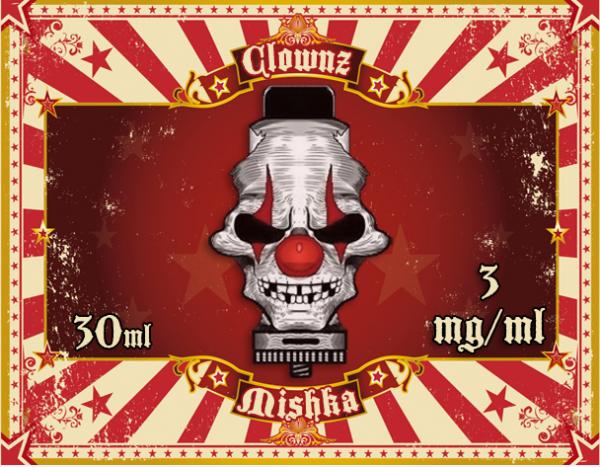 Clownz Liquid 30ml Mishka