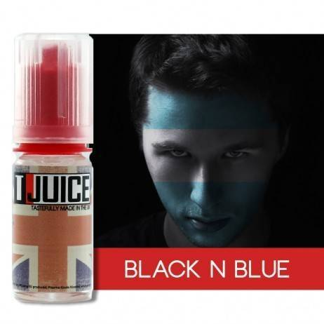 T-Juice E-Liquid Black 'n' Blue 10ml
