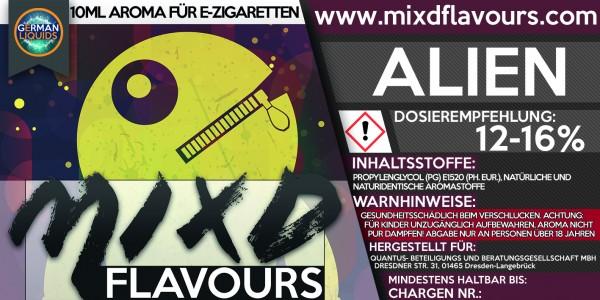 MIXD Flavours Aroma 10ml Alien