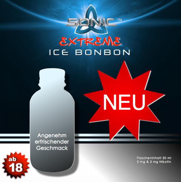 Sonic Extreme Liquid 50ml Ice Bonbon
