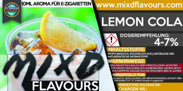 MIXD Flavours Aroma 10ml Lemon Cola