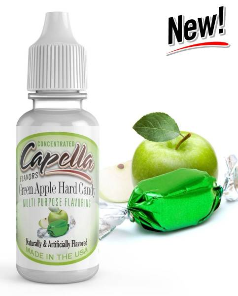 Green Apple Hard Candy - Capella Aroma 13ml