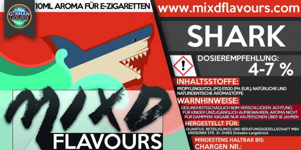 Shark - MIXD Flavours Aroma 10ml