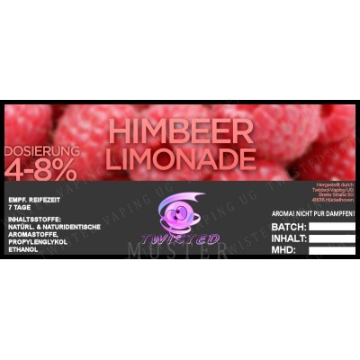 Twisted Flavors-Aroma (10 ml) Himbeer-Limonade