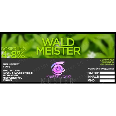 Twisted Flavors-Aroma (10 ml) Waldmeister