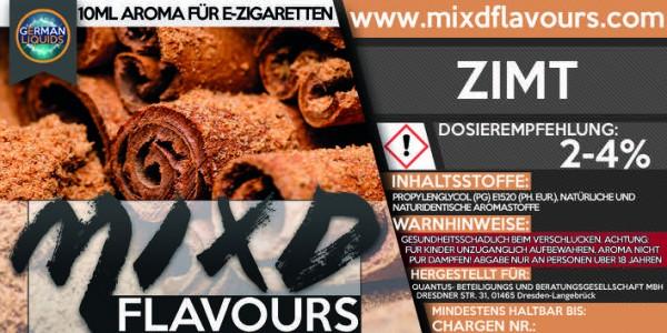 MIXD Flavours Aroma 10ml Zimt