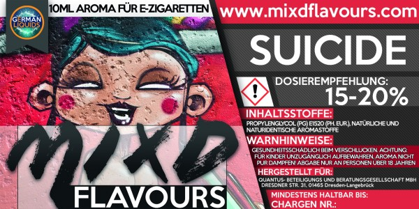 MIXD Flavours Aroma 10ml Suicide