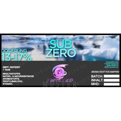 Twisted Flavors-Aroma (10 ml) Sub Zero