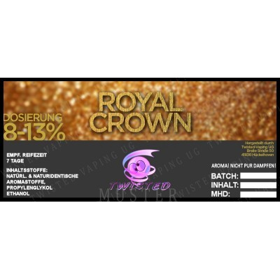 Twisted Flavors-Aroma (10 ml) Royal Crown