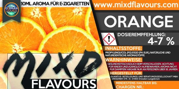 MIXD Flavours Aroma 10ml Orange