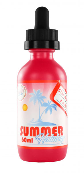 Summer Holidays Strawberry Bikini 60ml Liquid by Dinner Lady