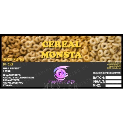 Twisted Flavors-Aroma (10 ml) Cereal Monsta