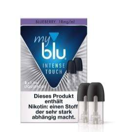 myblu Blueberry Pods 18mg nicsalt (2er Pack)