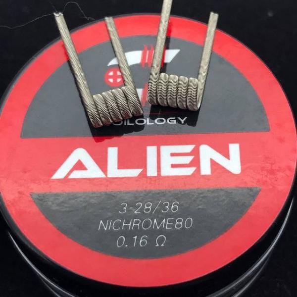 Coilology Alien Coil (2Stück Handgefertigt)
