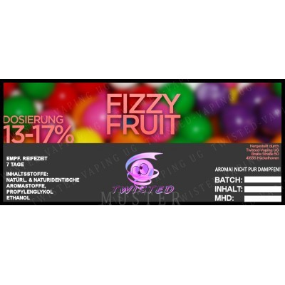 Twisted Flavors-Aroma (10 ml) Fizzy Fruit