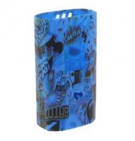 Silikon Cover für Smok Alien 220W Comic blau