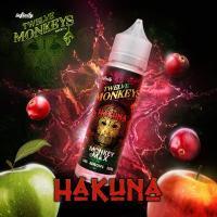 Hakuna - Twelve Monkeys Liquid 50ml 0mg