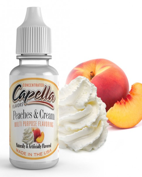 Capella Aroma 13ml Peaches & Cream