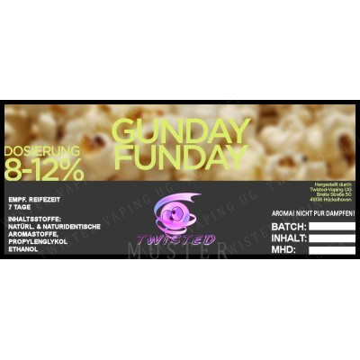 Twisted Flavors-Aroma (10 ml) Gunday Funday