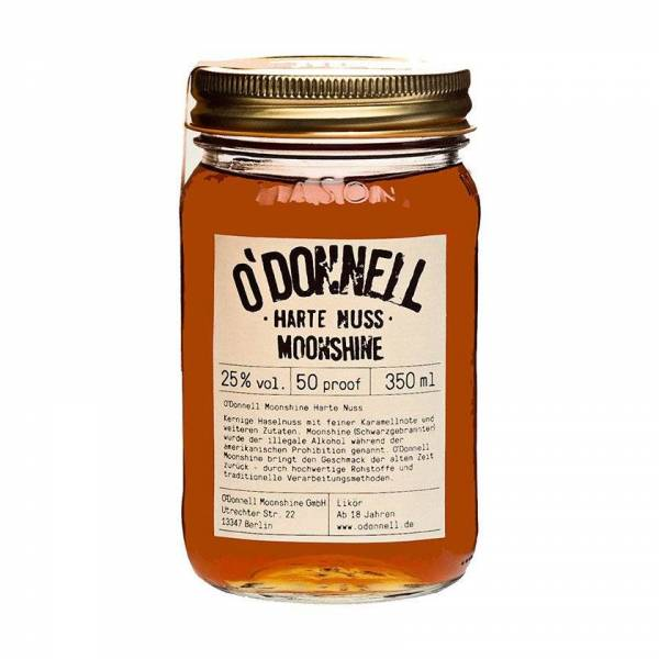 O'Donnell Moonshine Harte Nuss (350ml)