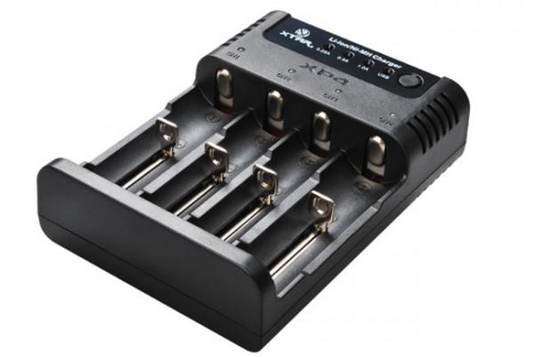 Xtar XP4 Akku-Ladegerät für Li-Ion oder Ni-MH Akkus