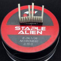 Coilology Staple Alien Coil (2Stück Handgefertigt)