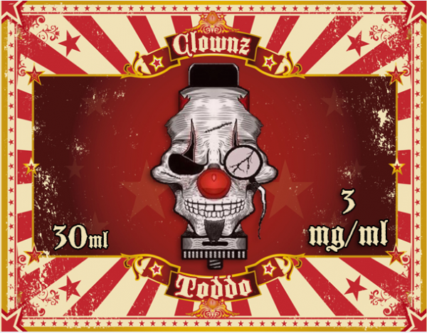 Clownz Liquid 30ml Toddo