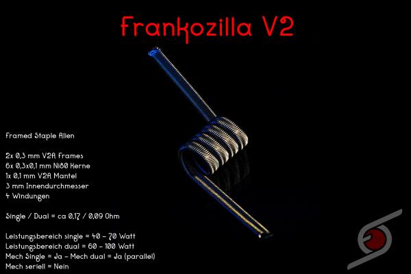 Franktastische Coils - Frankozilla V2