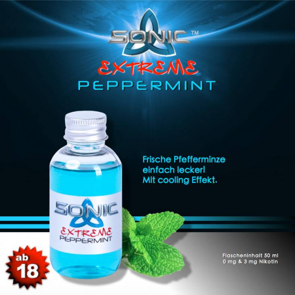 Sonic Extreme Liquid 50ml Peppermint