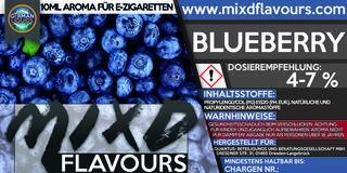 MIXD Flavours Aroma 10ml Blueberry