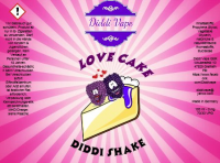 Love Cake - Diddi Shake Liquid 120ml