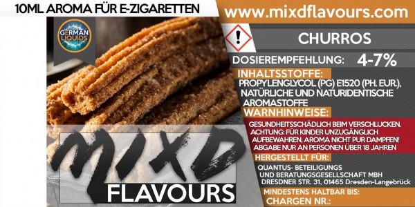 MIXD Flavours Aroma 10ml Churros