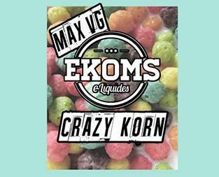 EKOMS E-Liquid 30ml Crazy Korn