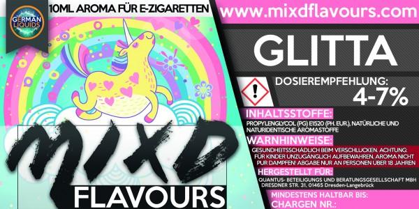 MIXD Flavours Aroma 10ml Glitta