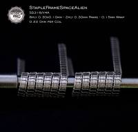 Coil Cat Pro V2A Staple-Frame-Space-Alien Dualset (2 Stück) Handmade in Germany