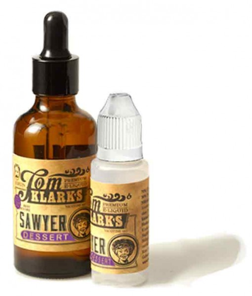 Tom Klark´s Premium E-Liquid 100ml Tom Sawyer Dessert (Glas) 3mg
