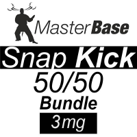 MasterBase Snap Kick 50/50 1000ml 3mg Bundle