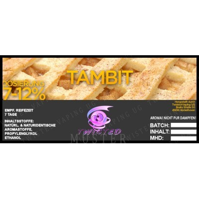 Twisted Flavors-Aroma (10 ml) Tambit